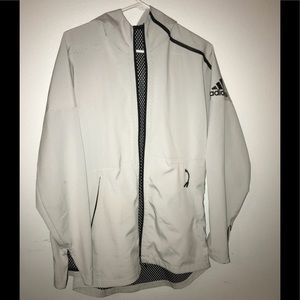 Adidas Rare White Reflective Windbreaker